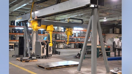 Overhead Robotic Supports